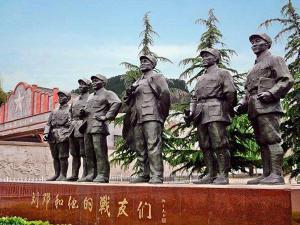 涉县129师